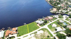 USA-Florida, Cape Coral: Wassergrundstücke mit grandiosem Ausblick