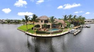 USA-Florida, Cape Coral: Atemberaubende Villa in Top-Wasserlage