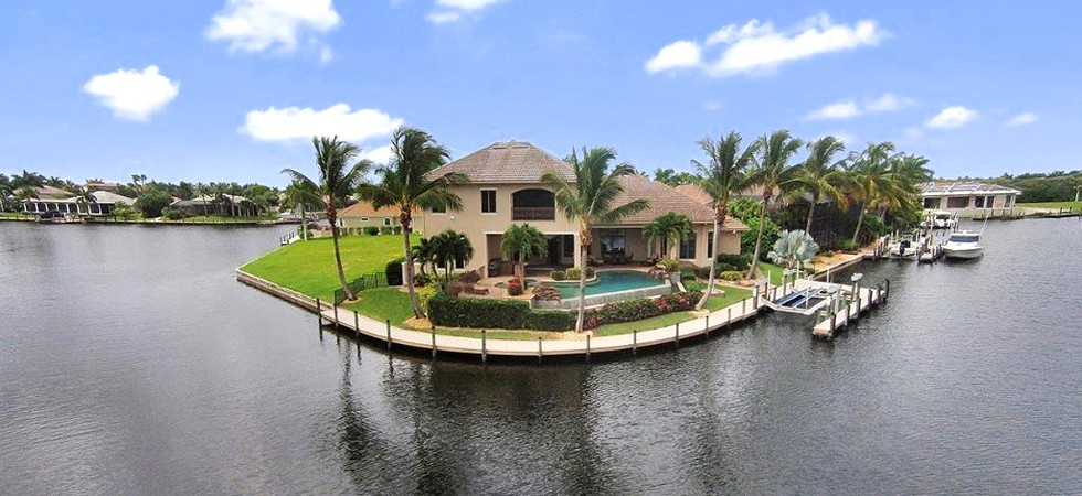 USA-Florida, Cape Coral: <br />Atemberaubende Villa in Top-Wasserlage